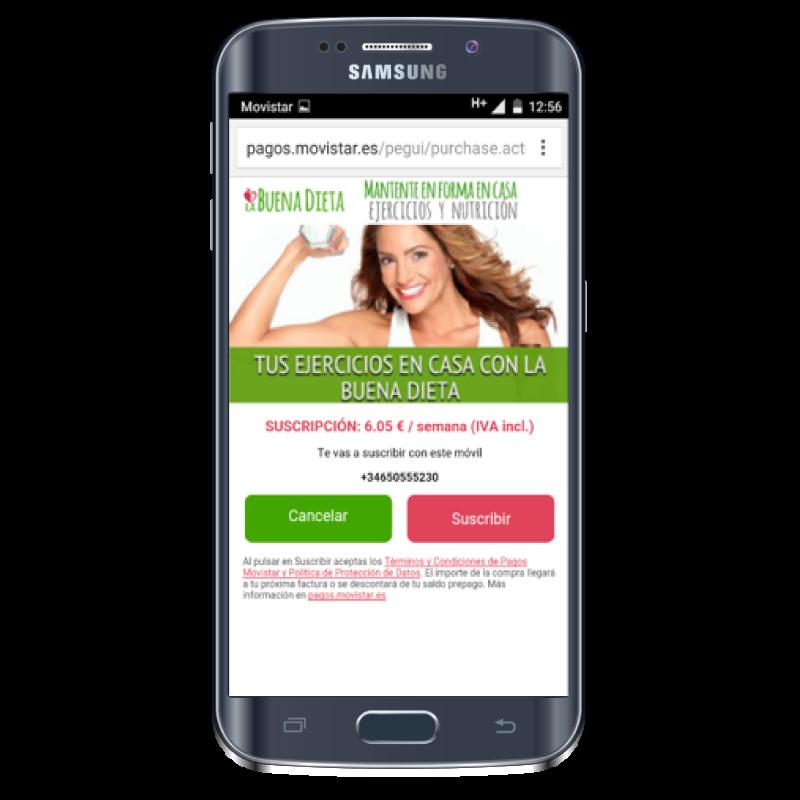 Pagos móviles - Direct Billing